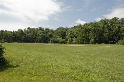 Open field at Long Branch-Wayne Local Park