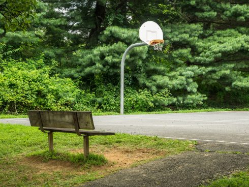 basketball at Longwood Local Park
