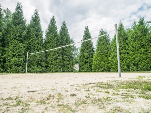 volleyball court at Nike Missile Local Park