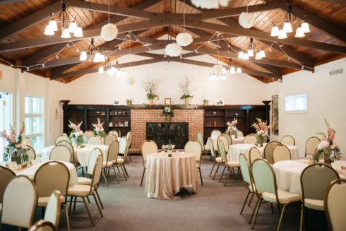 Rockwood Interior - reception set up