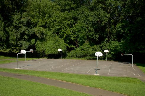 Basketball Court at Stewartown Local Park