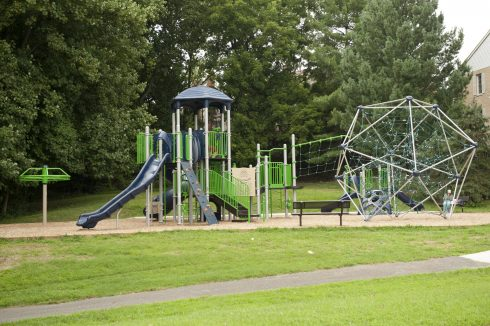 Playground at Timberlawn Local Park