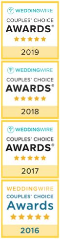 Wedding Wire Choice Awards Badges