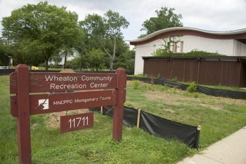Building at Wheaton Community Recreation Center