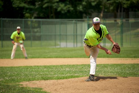 Baseball Player at Wheaton Regional Park