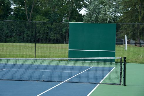 Tennis Court at Wheaton Woods Local Park