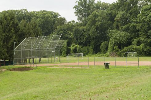 Softball Field at Whittier Woods Local Park
