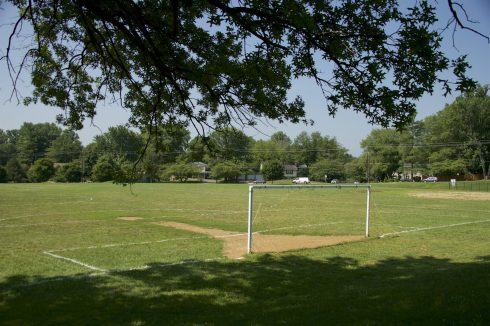 Soccer Field at Wood Local Park