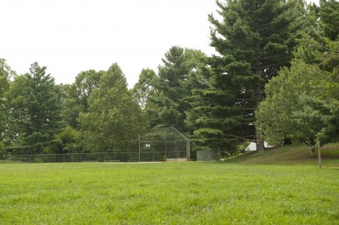 Baseball field at Woodacres Local Park