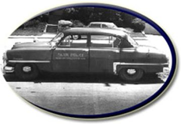 Historic police vehicle