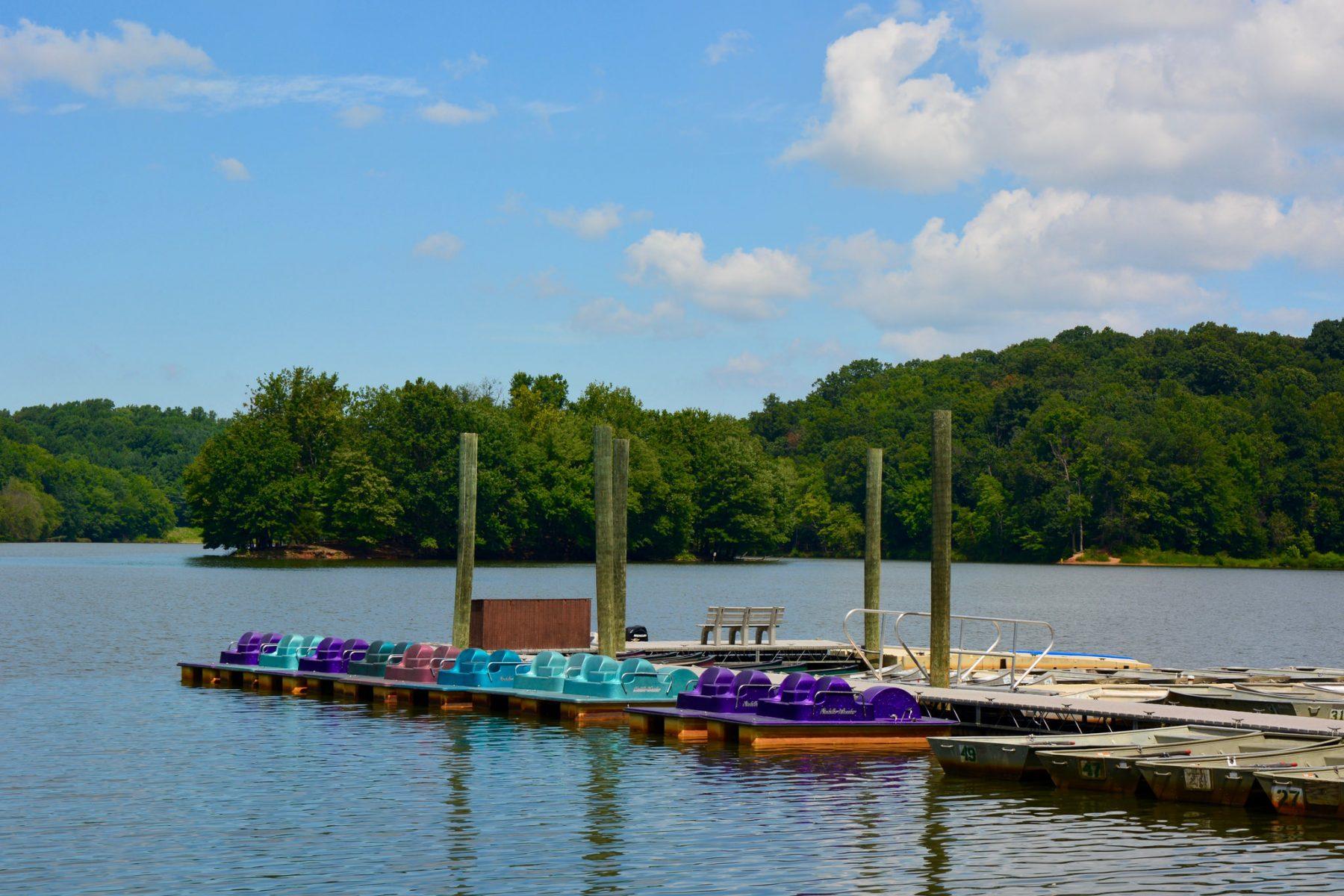 Lake Needwood Boats