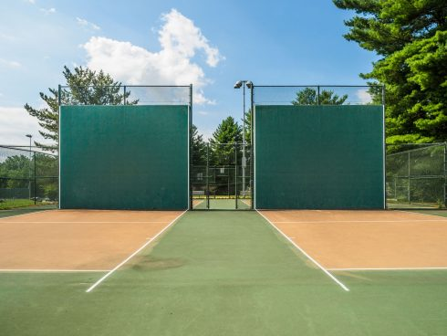 raquetball court at Olney Manor Recreational Park