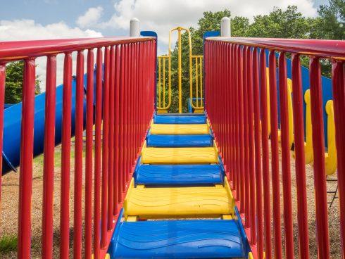 Playground at Olney Square Neighborhood Park