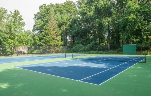 tennis court at Stonegate Local Park