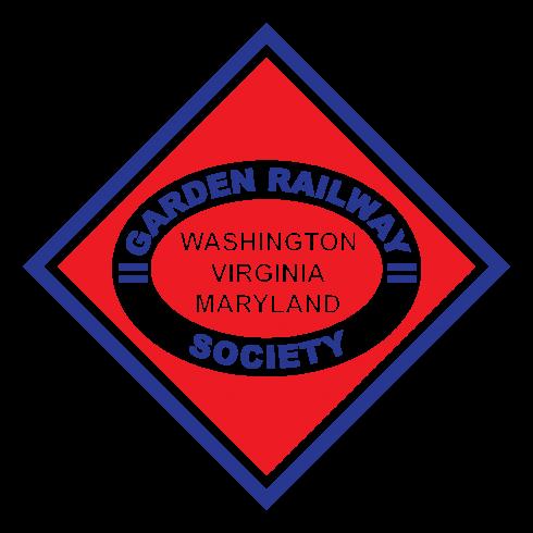 Washington, Virginia, Maryland Garden Railway Society Logo