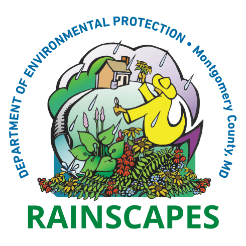 Logo graphic for Department of Environemntal Protection, Montgomery County