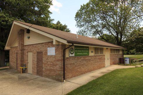 Clarksburg Neighborhood Park Activity Building