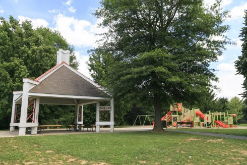 Picnic Shelter at Waters Landing Park