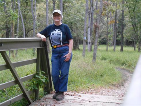 Bonnie Bell - parks volunteer