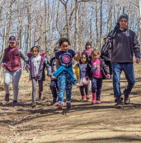 Spring Break program March 2018 at Meadowside Nature Center.