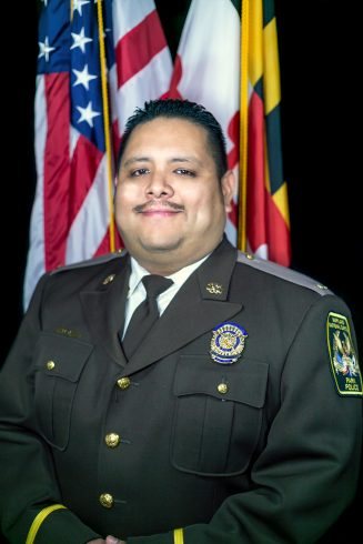 A photo of Hector Reyes (Park Police)