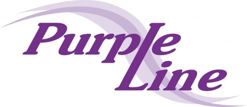 Purple Line text