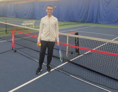 Ahmad Mady - Aceing Autism Volunteer at Wheaton Indoor Tennis