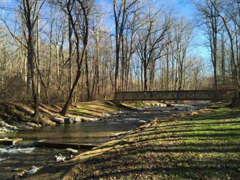 Bridge on the Western Piedmont Trail