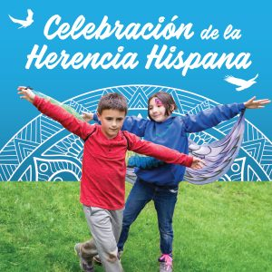 Children at Hispanic Heritage Festival