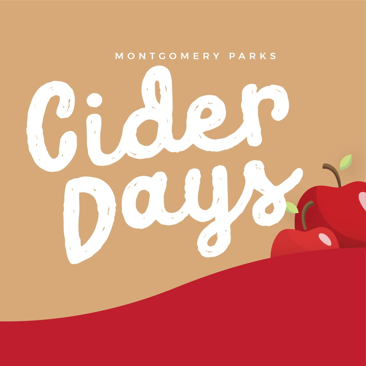 Script type design for Cider Days