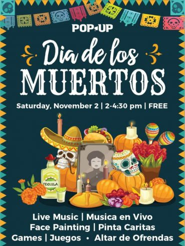 flyer for Day of the Dead festival