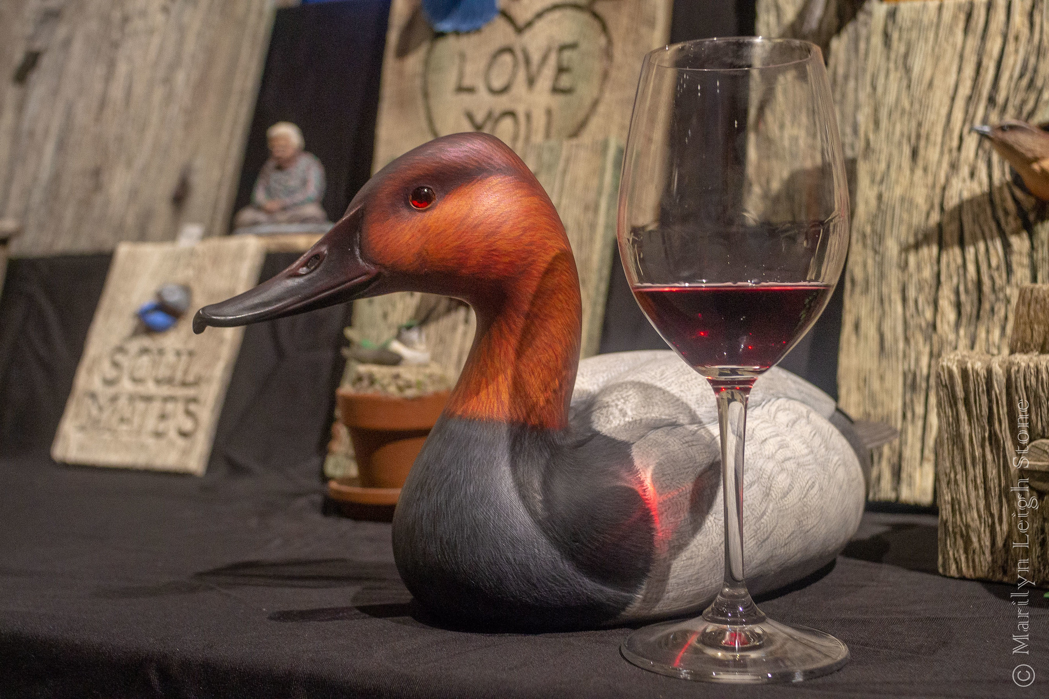 Wine & Waterfowl Event