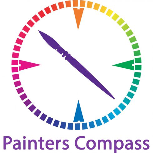 Painter's Compass logo graphic