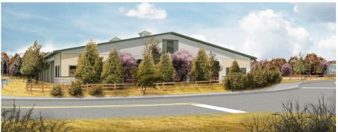 Meadowbrook Stables proposed covered riding arena