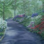 Azalea Walk, Soft Pastel by Kathy Tynan $350, Brookside Gardens