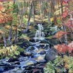 Fall Colors, Soft Pastel by Kathy Tynan $450, Brookside Gardens