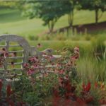 Garden Bench by Renee Ruggles $125, photograph
