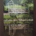 Gazebo Reflection photograph by Renee Ruggles $130