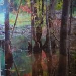 Wood Reflections by Renee Ruggles $110, photograph