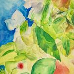Nature in Display, Watercolor, by Simin Parvaz $280, Brookside Gardens