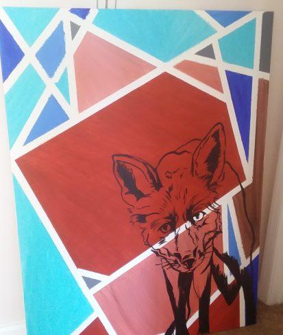 Blue, Art, Illustration, Modern art, Visual arts