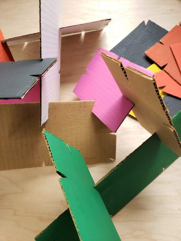 Construction paper, Pink