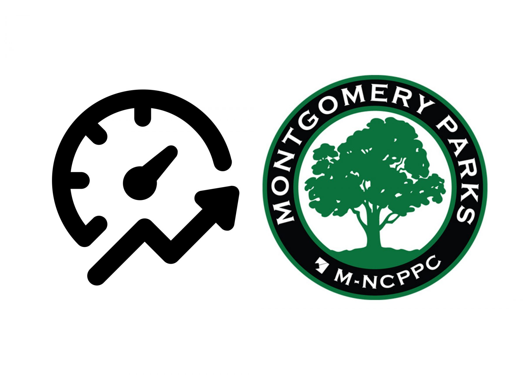 Performance Icon and Montgomery Parks Logo