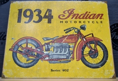 Indian Motorcycle 1934 Sign