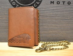 Indian Motorcycle Biker Chain Wallet