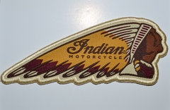 Indian Motorcycle Colored Headdress Patch