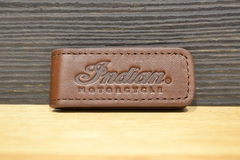 Indian Motorcycle Leather Money Clip