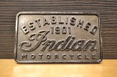 Indian Motorcycle Men's Established Buckle