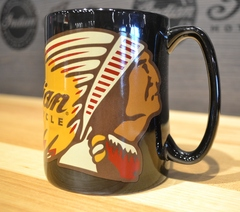 Indian Motorcycle Sculpted Mug