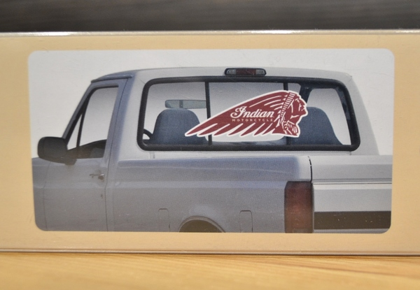 Indian Motorcycle Window Decal - Small